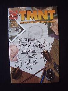 Teenage Mutant Ninja Turtles TMNT Vol 4 22 Signed Kevin Eastman Peter Laird COA