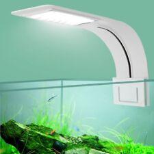 10W 24 LED LAMPADA PLAFONIERA LUCE ACQUARIO FISH TANK CLIP BORDO NOTTURNA