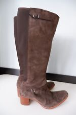 Timberland Womens Knee High Suede Boots, Uk 6, Eu39, Us8w, Brown, VGC