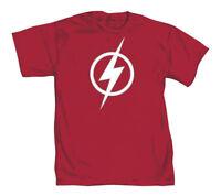 DC Comics Kid Flash Rebirth Symbol Mens Red T-Shirt