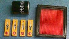 Para Nissan Nota 1.4 06 07 08 09 piezas de repuesto Kit De Aceite Filtro De Aire Spark Plugs Set