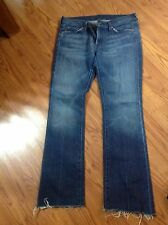 7 FOR ALL MAN KIND BOOTCUT DARK JEANS SIZE: 31