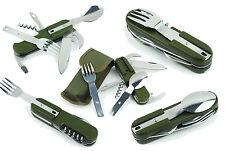 couvert camping multifonction militaire étui couteau décapsuleur tire-bouchon