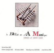 CartwrightOppenheim : La Faute De La Musique: Songs of John Ca CD