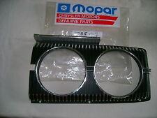 NOS MOPAR 1967 CORONET 500 LH HEAD LIGHT BEZEL HEMI NIB!!!