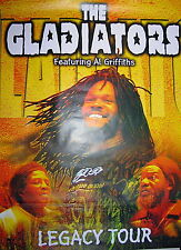 THE GLADIATORS - Affiche Originale / Original Concert Large Poster - 80 x 120