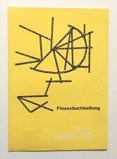 OLIVETTI Audit 202 Calculator Booklet 1958 Vintage MODERNIST GRAPHIC DESIGN