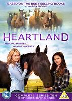 HEARTLAND COMPLETE SERIES 10 DVD Tenth  10th Season Ten UK Release Brand New R2