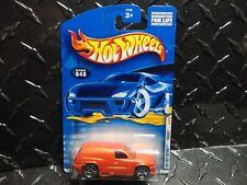 2001 Hot Wheels #48 Orange Fandango w/PR5 Spoke Wheels ERROR No Side Tampo's