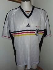 Adidas Deutscher Fussball Bund Jersey Mens XLarge Football Soccer White