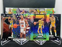 2019-20 Panini Prizm Magic Johnson Silver Mosaic Holo Base Lot Lakers