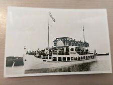 Postkarte Passagierschiff Princehof Niederlande 1950 gel_