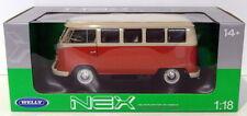 Autobús de automodelismo y aeromodelismo color principal rojo de escala 1:18
