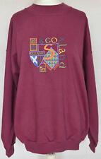 The Sweater Shop Scotland Pink Oversized Jersey Jumper - 90s Vintage - XL 16 18