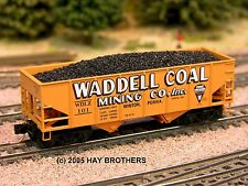 Hay Brothers #3 COAL LOAD - fits MicroTrains 33' Twin-Bay Hoppers