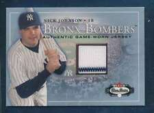 2003 Fleer Box Score Bronx Bombers Jersey #7 Nick Johnson   NMMT    37349