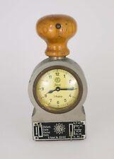 ERFU Uhr Mechanische Tischuhr Uhr mit Datumstempel Stempeluhr ca. 1930 Zeitstemp