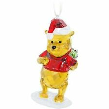 Disney Swarovski Crystal Christmas Ornament Winnie The Pooh Nib 5030561 $199