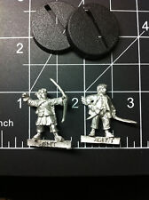 Games Workshop LOTR ~ Lord of the Rings Hobbit w/ Bow x2 Fellowship ~ Hobbit