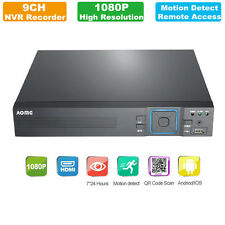 Hot AOMG 1080P 8CH NVR Network Home Security System Video Recorder Standalone US