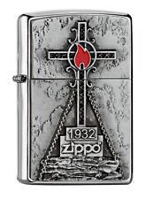 Zippo Lighter ● Peak Cross Kreuz Emblem ● 2005329 ● Neu New OVP ● A2