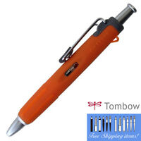 "Tombow AirPress"" Orange BC-AP54 Pressurized Ballpoint Pen 0.7mm Outdoor"