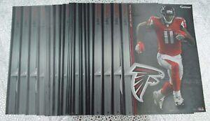 "12 Fathead Atlanta Falcons Julio Jones NFL 7"" Decal Team Logo Tradables"
