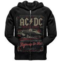 AC/DC SPEEDSHOP, Zip-Front Hoodie Officially Licensed Merch, sizes M - XL ,