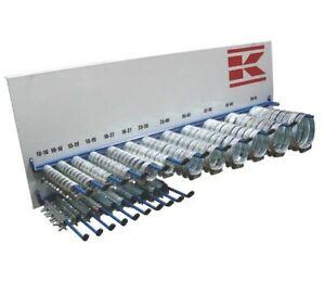 220x Schlauchschellen Sortiment 6-70mm inkl. Rack Set Schellen Aufsteller Aktion