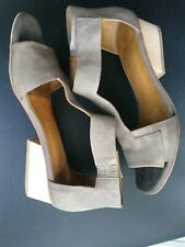 Coclico Ollie Leather City Sandal, Medium Gray size 38