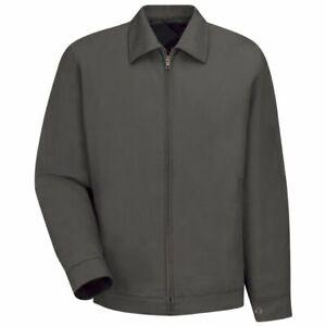 Red Kap JT22 Slash Pocket Heavy Duty Twill Work Jacket with Pockets