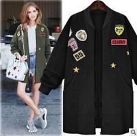 Womens' Autumn Winter Warm Trench Coat Long Jacket Windbreaker Casual Outwear