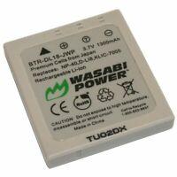 Wasabi Power Battery for Panasonic CGA-S004, DMW-BCB7