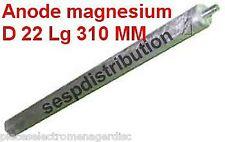 anode magnésium pour chauffe eau D 22 mm Lg 314 mm filetage M10