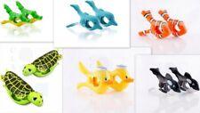 BEACH TOWEL 'Boca' CLIPS/PEGS -TURTLES,FISH,WHALES,GATORS,DOLPHINS -SUNBED,pool