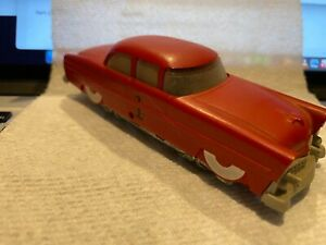 LIONEL #0068 HO Executive Inspection Car VINTAGE Red #1 Tested and Runs!