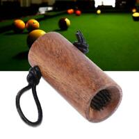 2 in 1 Portable Billiard Pool Cue Tip Trimmer Shaper Stick Repair Tool Accessory