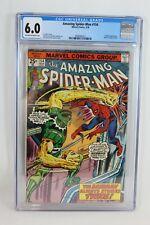 Marvel 1976 Amazing Spiderman #154 CGC Graded 6.0 Sandman Appearance