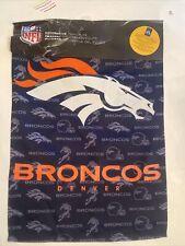 Denver Broncos Vertical Banner [New] Nfl Flag Yard House Sign Outside
