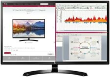 LG 32MA70HY-P 32 Inch Full HD IPS LED Monitor with Display Port & HDMI Inputs