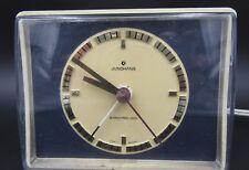 L517 ⭐⭐Vintage Junghans Synchrone - Vox Horloge de Table Réveil des Années 70