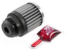 "K&N Filters 62-1485 1.25"" Push In Valve Cover Breather Chrome Top 2"" Diameter"