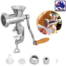 Meat Grinder Mincer Stuffer Sausage Filler Maker Machine Manual Tool HKCU61601