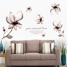 DIY Flowers Removable Wall Stickers Decal Art Vinyl Flower Mural Home Room Decor