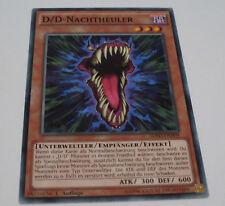 Yu-Gi-Oh Karte - D/D-Nachtheuler - Unterweltler / Empfänger / Effekt Yugioh Neu