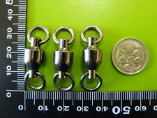 25 x DFS size # 8 BALL BEARING FISHING SWIVELS TEST 125KG, tackle