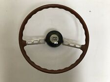 Lancia Fulvia Coupe S2 steering wheel