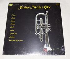 LP : Tom Justice Makes Love (1978) SIGNED  jazz trumpet SEALED