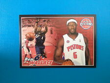 2009-10 Panini NBA Basketball n. 88 Ben Wallace Detroit Pistons