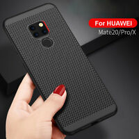 Ultra Slim Hard Phone Cases For Huawei Mate 20 Pro Lite X Shockproof Back Covers
